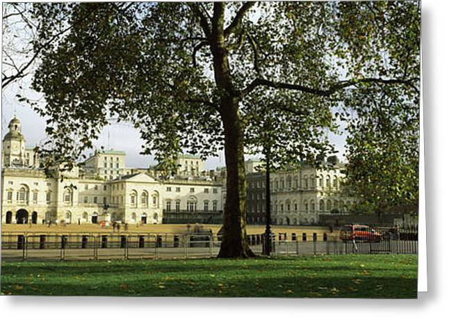 Horse Images Greeting Cards - Horse Guards Building, St. Jamess Park Greeting Card by Panoramic Images