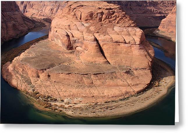 Horseshoe Bend - Arizona  Greeting Card by Aidan Moran