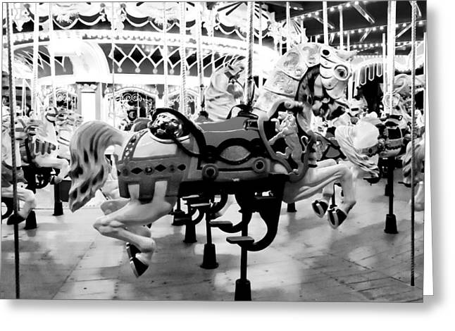 Magic Kingdom Photographs Greeting Cards - Horsey Greeting Card by Greg Fortier