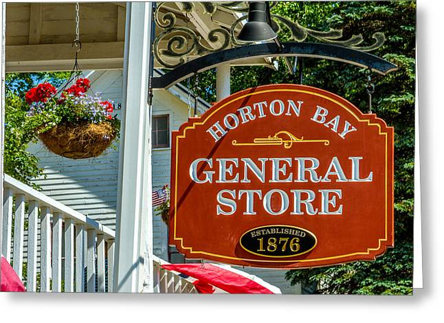 Grocery Store Greeting Cards - Horton Bay General Store Greeting Card by Bill Gallagher