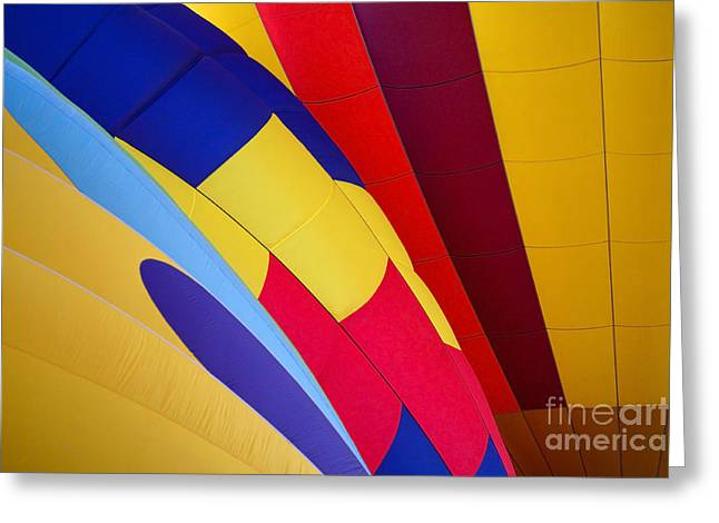 Rally Greeting Cards - Hot-Air Patterns Greeting Card by Mike  Dawson