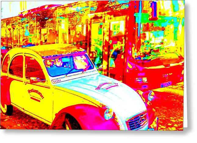 Oslo Greeting Cards - Hot Avenue Greeting Card by Hilde Widerberg