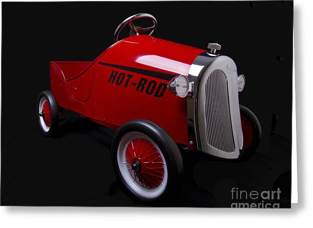 Bryan Freeman Greeting Cards - Hot Rod Greeting Card by Bryan Freeman