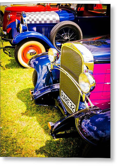 Hot Rods Greeting Card by Phil 'motography' Clark