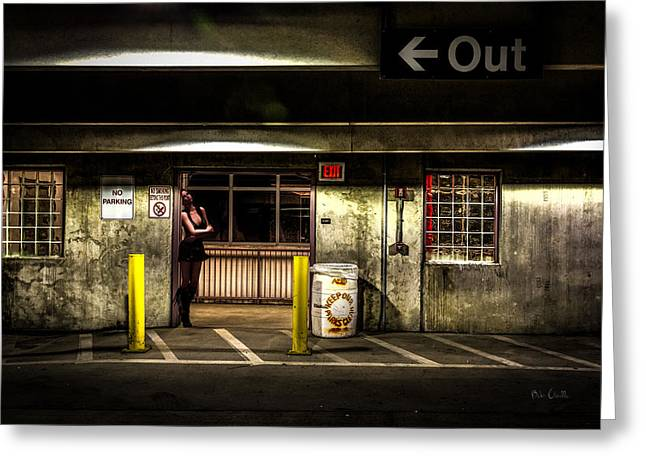 People Of The Night Greeting Cards - Hot Summer Night Out Greeting Card by Bob Orsillo