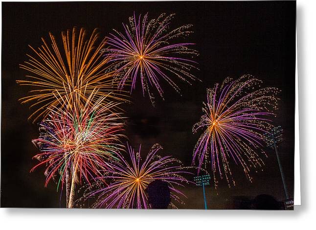Brighthouse Field Greeting Cards - Hot Summer Nights  Greeting Card by Jeff Donald