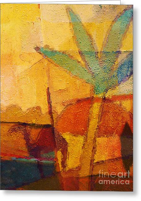 Hot Sun Greeting Card by Lutz Baar