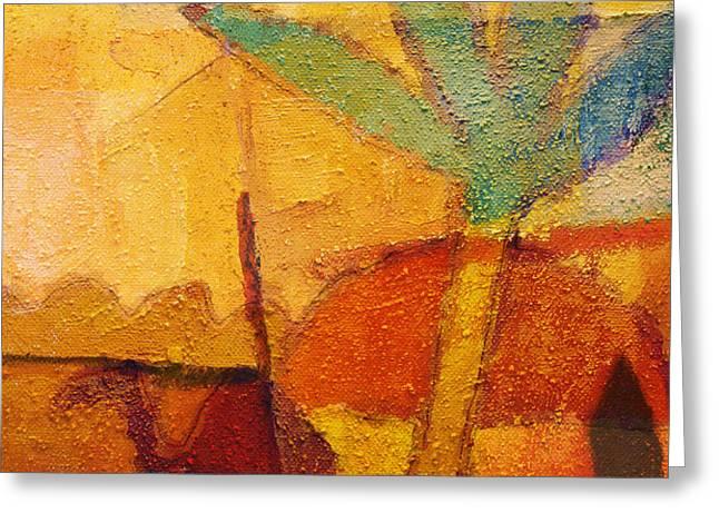 Hot Sun Greeting Card by Lutz Baar