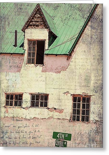 The Western Hotel Greeting Cards - Hotel Del Rio  Greeting Card by Janice Rae Pariza