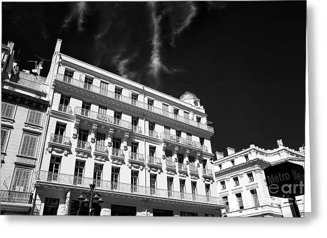 D.w Greeting Cards - Hotel Escale Oceania Greeting Card by John Rizzuto