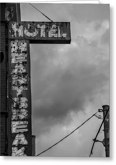 Hotel Heartbreak In Toronto Greeting Card by John McGraw