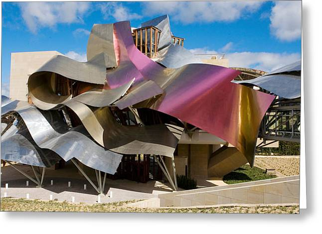 Rioja Greeting Cards - Hotel Marques De Riscal, Elciego, La Greeting Card by Panoramic Images
