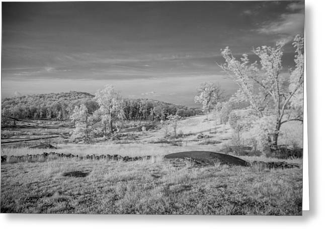 Devils Den Greeting Cards - Houcks Ridge  8D00081I Greeting Card by Guy Whiteley