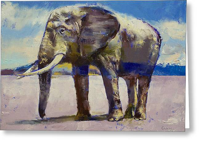 Extinction Greeting Cards - Hourglass Greeting Card by Michael Creese