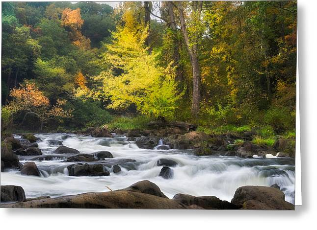 Housatonic River Greeting Card by Bill Wakeley
