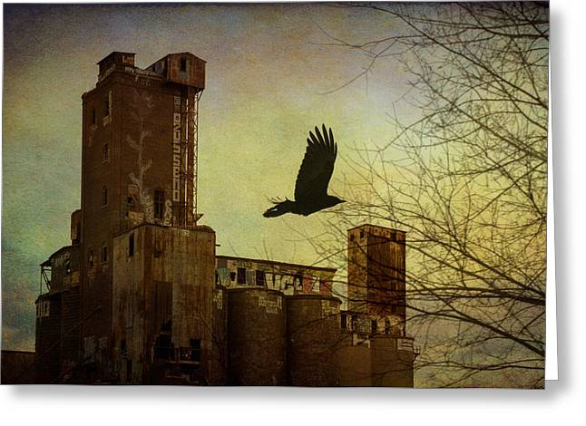Maltings Greeting Cards - House for rent Greeting Card by Michel Emery