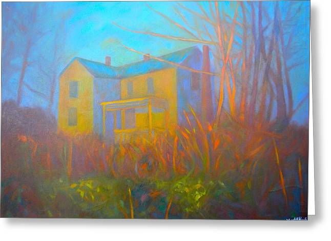 House In Blacksburg Greeting Card by Kendall Kessler