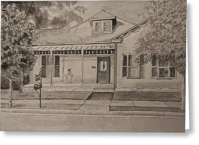 House In Franklin Tennessee Greeting Card by Arthur Witulski