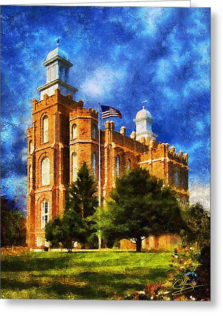 Mormon Greeting Cards - House of Learning Greeting Card by Greg Collins