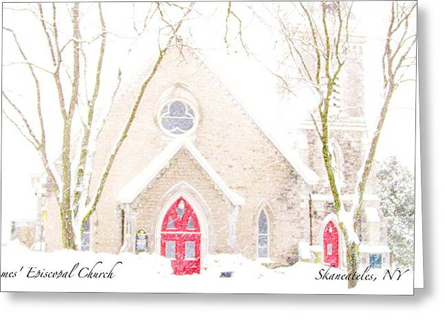 Skaneateles Greeting Cards - O Come All Ye Faithful Greeting Card by Margie Amberge