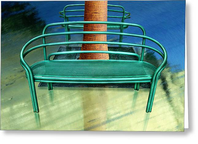 Park Benches Greeting Cards - House of Representatives Greeting Card by Paul Wear
