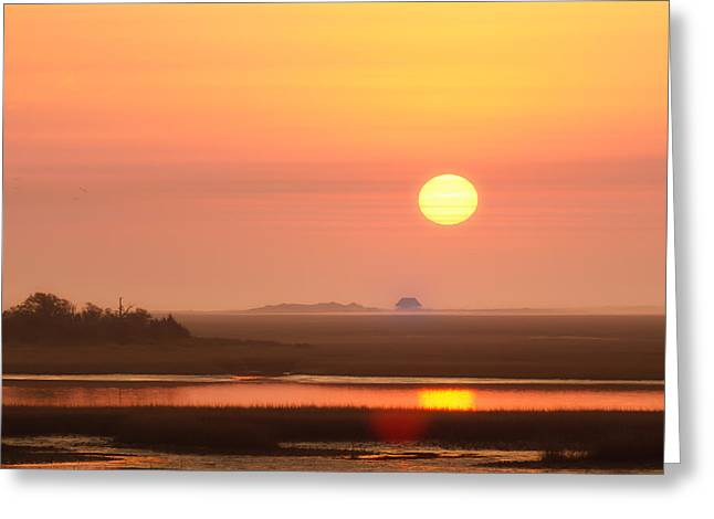 House Of The Rising Sun Greeting Card by Jo Ann Tomaselli