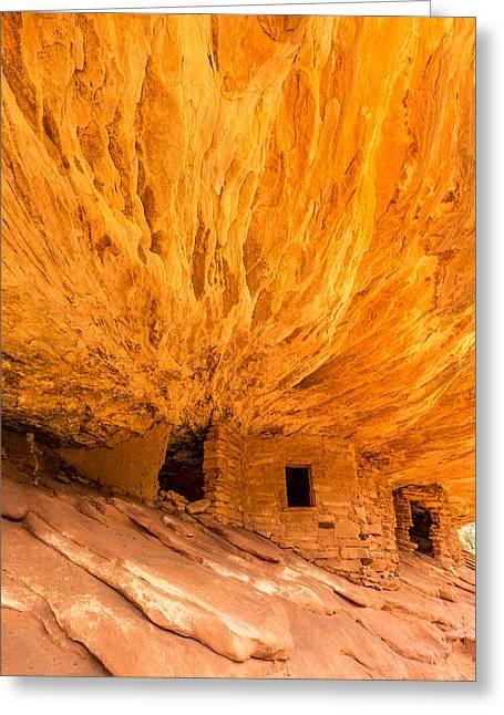 Pueblo People Greeting Cards - House on Fire Utah Greeting Card by Pierre Leclerc Photography