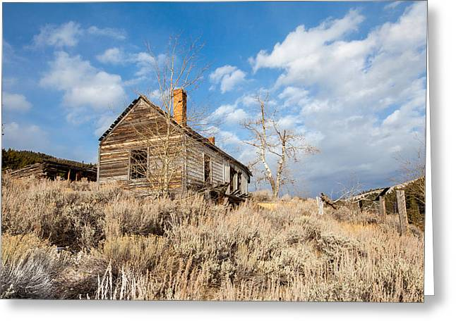 Daysray Photography Greeting Cards - House on the Hill Greeting Card by Fran Riley