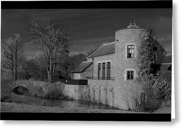 House On The River Greeting Card by Maj Seda