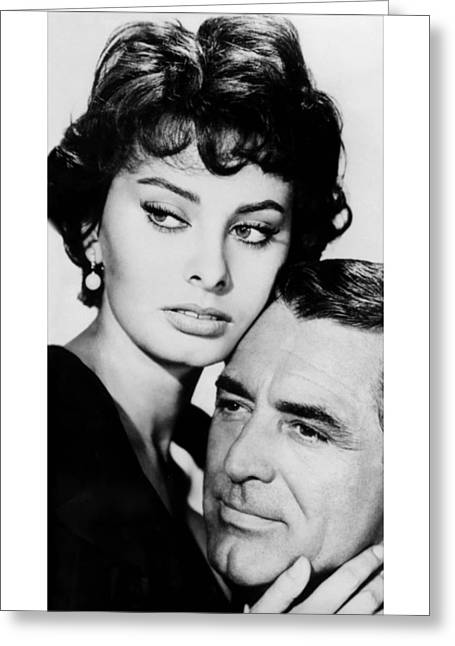 Sophia Loren Greeting Cards - Houseboat  Greeting Card by Silver Screen