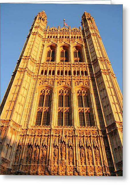 Barry Styles Greeting Cards - Houses of Parliament Greeting Card by Celso Diniz