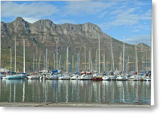 Tom Hudson Greeting Cards - Hout Bay Greeting Card by Tom Hudson