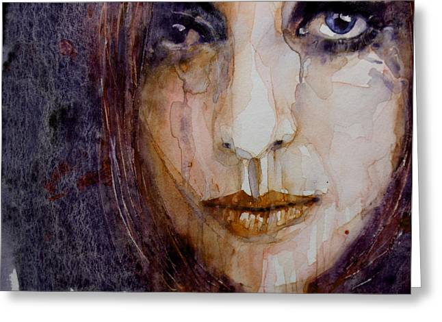 Woman Crying Greeting Cards - How Can You Mend A Broken Heart Greeting Card by Paul Lovering