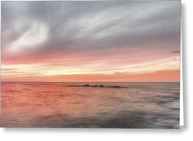 Ocean Art Photography Greeting Cards - How it Can End Greeting Card by Jon Glaser