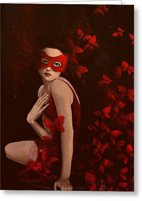 Dress Greeting Cards - How long do butterflies live Greeting Card by Dorina  Costras