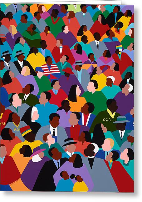 Civil Rights Greeting Cards - How Long Not Long Greeting Card by Synthia SAINT JAMES