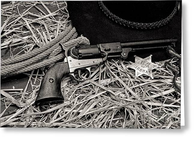 Law Enforcement Greeting Cards - How the West was Won Greeting Card by Paul Ward