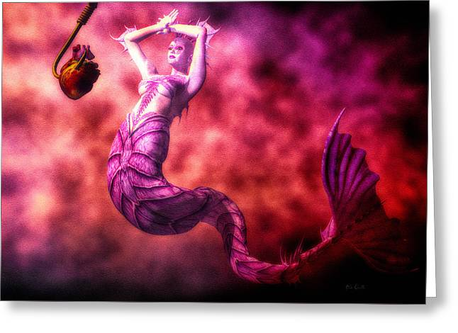 Science Fiction Greeting Cards - How To Catch Mermaids Greeting Card by Bob Orsillo