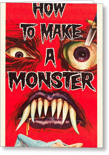 How To Make A Monster Greeting Card by MMG Archives
