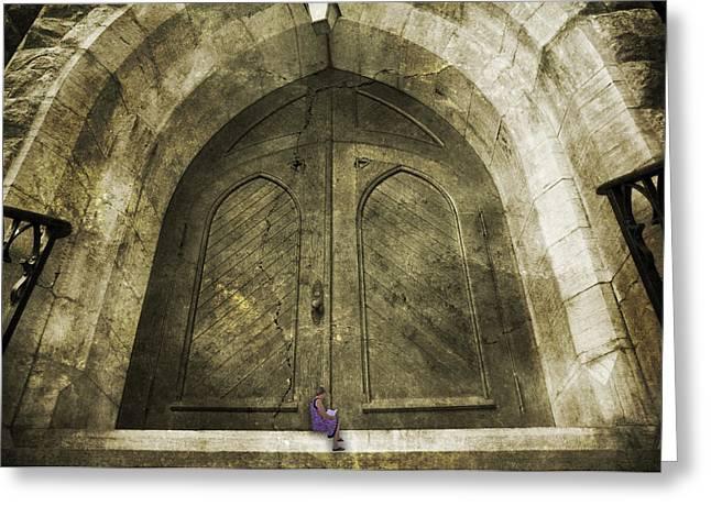 Vmi Greeting Cards - How to Unlock Doors Greeting Card by Betsy C  Knapp