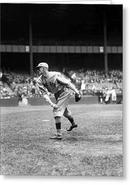 Boston Red Sox Greeting Cards - Howard J. Ehmke Greeting Card by Retro Images Archive