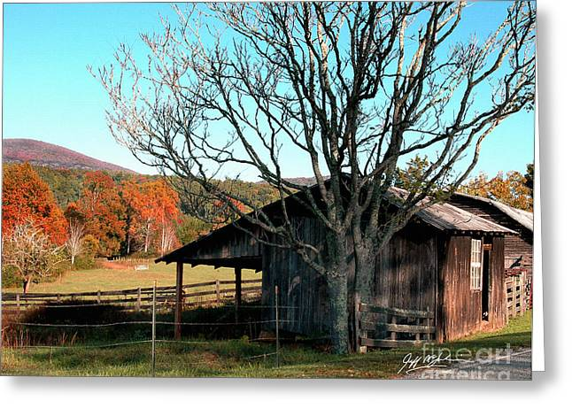 Jeff Mcjunkin Greeting Cards - Howards Gap Greeting Card by Jeff McJunkin