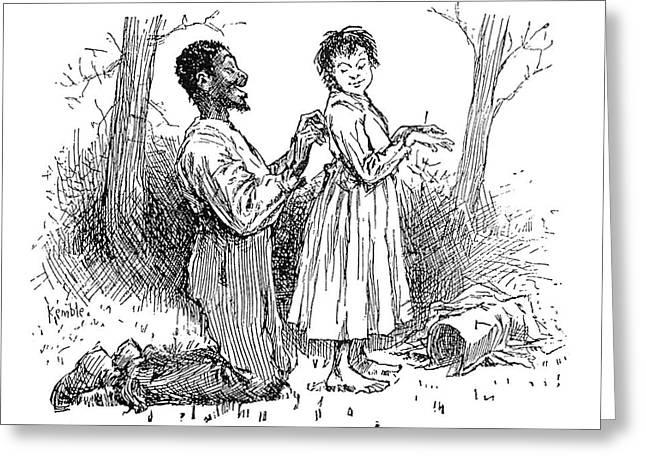 Huckleberry Finn, 1885 Greeting Card by Granger