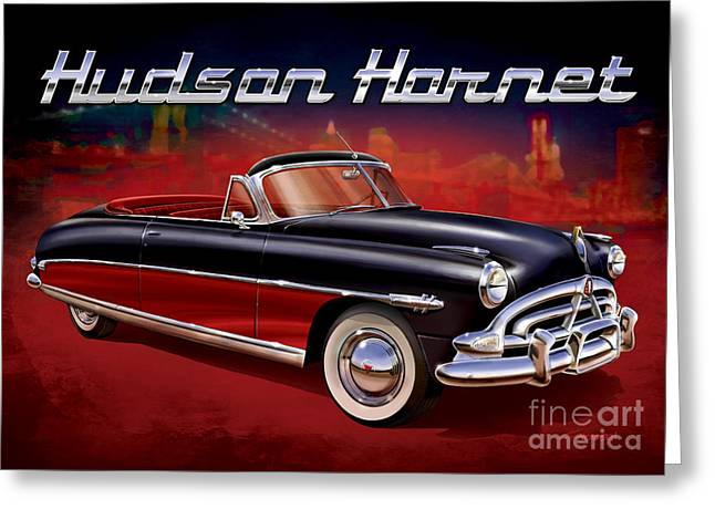 Model Kits Greeting Cards - Hudson by the Hudson Greeting Card by Sean Svendsen