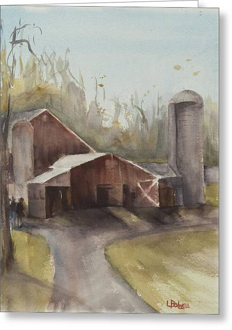 Lynne Bolwell Greeting Cards - Hudson Valley Farm Greeting Card by Lynne Bolwell