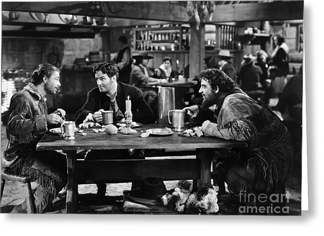Pewter Mugs Greeting Cards - Hudsons Bay, 1940 Greeting Card by Granger