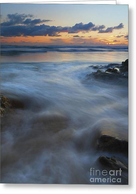Hug Greeting Cards - Hug Point Surge Greeting Card by Mike Dawson
