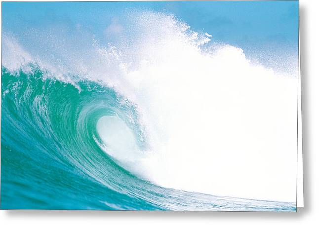 Strength Photographs Greeting Cards - Huge Waves In Ocean Greeting Card by Panoramic Images