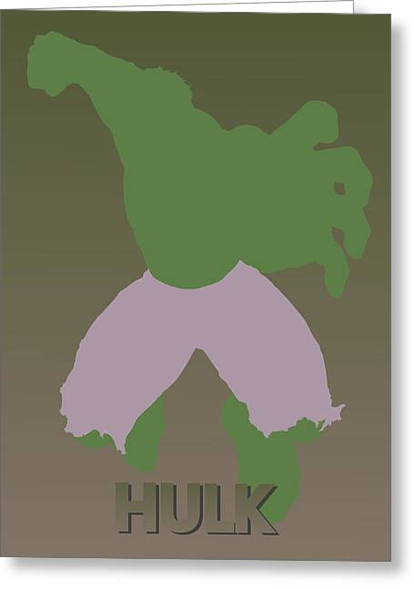 Thor Greeting Cards - Hulk Greeting Card by Joe Hamilton