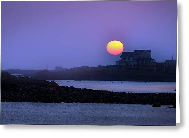 Hull Ma Greeting Cards - Hull of a Sunrise Greeting Card by Joanne Brown